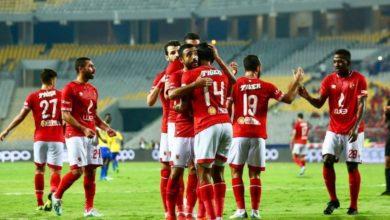 """Photo of مصر المقاصة يحتفل مع الأهلي بـ """"تورتة"""" والخطيب يشكر محمد عبد السلام"""