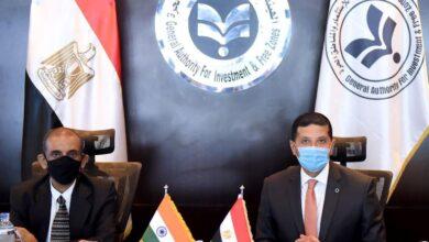 Photo of الرئيس التنفيذى لهيئة الاستثمار يلتقى السفير الهندى لزيادة التعاون الاستثماري بين البلدين