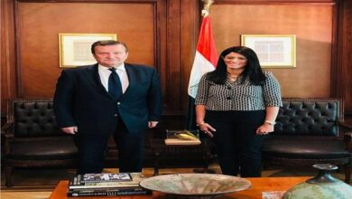 Photo of «المشاط» تلتقي سفير أوكرانيا بالقاهرة لبحث انعقاد اللجنة المصرية الأوكرانية المشتركة