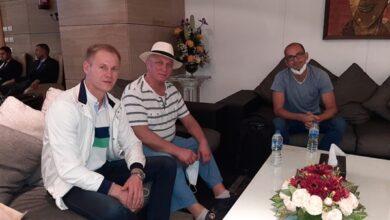 Photo of رئيس الاتحاد البيلاروسي لكرة اليد يصل إلى القاهرة للمشاركة في قرعة كأس العالم