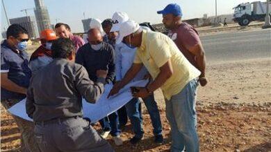 "Photo of نائب رئيس ""المجتمعات العمرانية"" في العاصمة الإدارية لتفقد مشروعات المرافق"