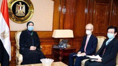 Photo of وزيرة التجارة تبحث مع سفير اليابان بالقاهرة رفع الحظر عن صادرات الموالح
