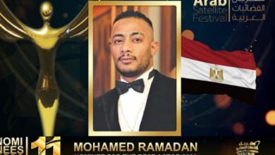 Photo of للسنة الثالثة على التوالي.. محمد رمضان يحصل على جائزة أفضل ممثل عربي في٢٠٢٠