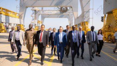 """Photo of وزير الري """"الجنوب سوداني"""" يزور المنطقة الاقتصادية لبحث التعاون المشترك"""