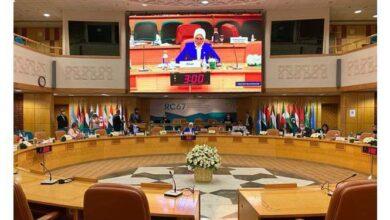 Photo of هالة زايد رئيسا للدورة الـ ٦٧ للجنة منظمة الصحة العالمية لإقليم شرق المتوسط