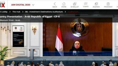 Photo of وزيرة التجارة والصناعة تستعرض فرص الإستثمار فى السوق المصرى خلال فعاليات ملتقى الإستثمار السنوى المنعقد بدولة الإمارات