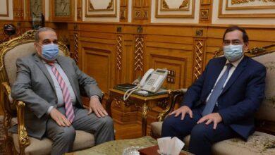 """Photo of وزيرا """" الإنتاج الحربى """" و """" البترول """" يشهدا توقيع بروتوكول للتعاون فى عدد من المجالات"""