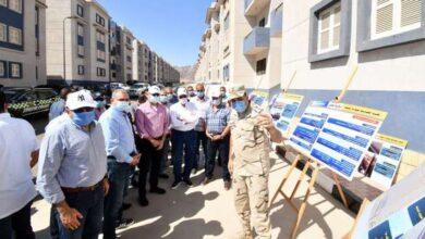 Photo of وزير الإسكان ومحافظ جنوب سيناء يتفقدان مشروع تطوير مناطق الرويسات بمدينة شرم الشيخ