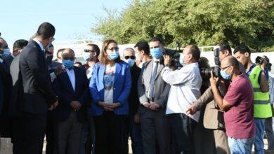 Photo of السعيد خلال زيارتها لسوهاج: المشروع القومي لتأهيل التوع يوفر ٥ مليارات متر مكعب من المياه سنويا