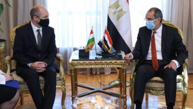 Photo of الدكتور عمرو طلعت وزير الاتصالات وتكنولوجيا المعلومات يبحث مع سفير جمهورية المجر بالقاهرة