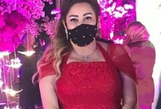 Photo of نهال عنبر تتبع الإجراءات الوقائية في حفل زفاف هنادي مهنا
