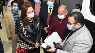 Photo of وزيرة التخطيط والتنمية الاقتصادية تتفقد جناح الوزارة بمعرض القاهرة الدولي للاتصالات وتكنولوجيا المعلومات CAIRO ICT2020