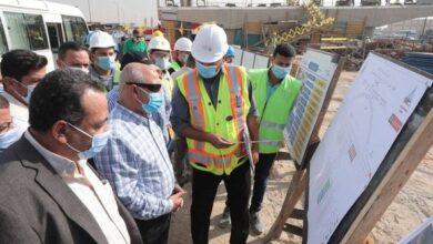 Photo of وزير النقل يتفقد أعمال التطوير والصيانة الشاملة للطريق الدائري
