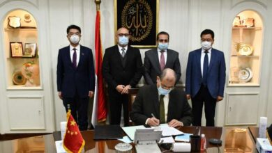Photo of مصر والصين توقعان مذكرة تفاهم لإدارة منطقة الأعمال المركزية بالعاصمة الإدارية