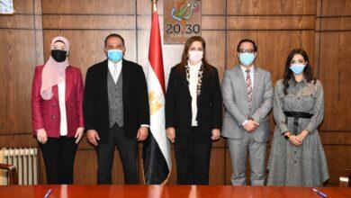 "Photo of وزيرة التخطيط والتنمية الاقتصادية تتابع مع الرئيس التنفيذي لـ""القابضة""(ADQ) أعمال منصة الاستثمار المشتركة بين مصر والإمارات"