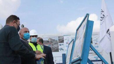 Photo of وزير النقل يتفقد مشروع القطار الكهربائيLRT