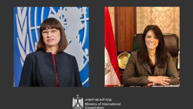 Photo of وزيرة التعاون الدولي تلتقي المنسق الجديد للأمم المتحدة لمناقشة التعاون المستقبلي بين مصر والمنظمة الدولية