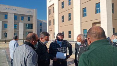 Photo of مسئولو الإسكان يقومون بجولة تفقدية للمشروعات المختلفة بمدينة العلمين الجديدة