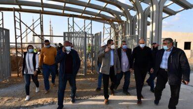 "Photo of نائب وزير الإسكان يتفقد مشروع الحدائق المركزية ""كابيتال بارك"" بالعاصمة الجديدة"