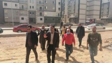 """Photo of مسئولو جهاز  """"بدر"""" يتفقدون المرحلة الثانية من مشروعات تطوير الطرق بالمدينة"""