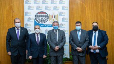"""Photo of """"توفيق"""" و""""مرسي"""" و""""التراس"""" يشهدون توقيع بروتوكولات تعاون في مجال توريد الأخشاب"""
