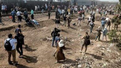 Photo of انقلاب 4 عربات ووزير النقل يتوجه لموقع حادث قطار القليوبية