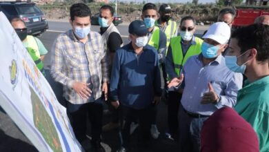 Photo of وزير النقل يتفقد مشروع تطوير طريق المنصورة /جمصة (رافد جمصة) بطول 50 كم، وتكلفة مليار و268 مليون جنيه