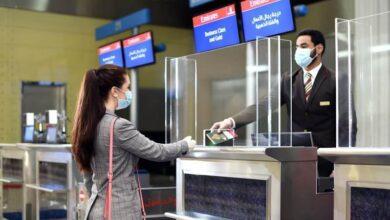 """Photo of طيران الإمارات وهيئة الصحة تبدآن العمل بالتحقق الرقمي من سجلات """"كوفيد-19″الطبية للمسافرين من دولة الإمارات"""