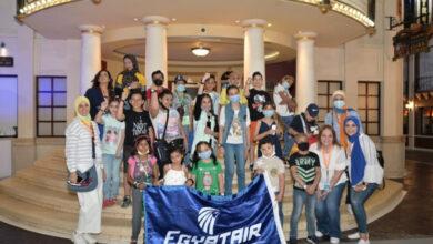 Photo of مصر للطيران تنظم جولة ترفيهية لأطفال مستشفى 57357
