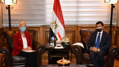 Photo of وزير الشباب والرياضة يلتقي ممثل صندوق الأمم المتحدة للسكان في مصر