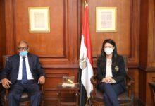 Photo of وزيرة التعاون الدولي تلتقى السفير محمدي أحمد الأمين العام الجديد لمجلس الوحدة الاقتصادية العربية