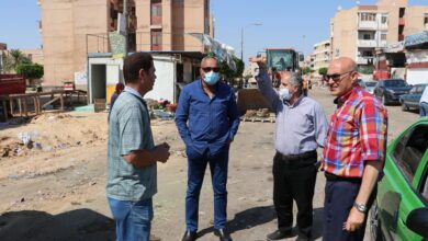Photo of رئيس جهاز مدينة السادات يقود حملة لإزالة الإشغالات بسوق المنطقة السكنية الرابعة