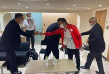 Photo of وزير الرياضة يلتقي رئيس اللجنة الأولمبية اليابانية خلال حضوره منافسات دورة الألعاب الأولمبية