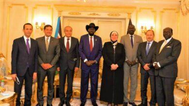 Photo of رئيس جنوب السودان يستقبل وزيرى الصناعة والتموين واعضاء الوفد المصرى بالعاصمة جوبا