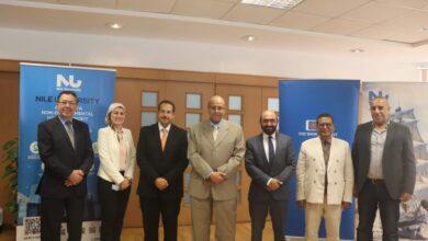 Photo of جامعة النيل الأهلية توقع اتفاقية تعاون مع البنك التجاري الدولي