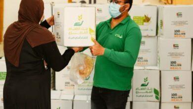 """Photo of الإمارات: """"حملة 100 مليون وجبة"""" توزع أكثر من 30 مليون وجبة لبنوك الطعام في مصر بالتعاون مع الشبكة الإقليمية"""