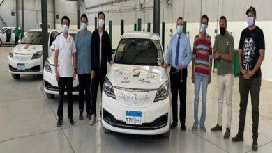 "Photo of ""قطاع الأعمال"": ""النصر للسيارات"" تبدأ تجربة السيارة الكهربائية ""E70"" بالتعاون مع ""أوبر"""